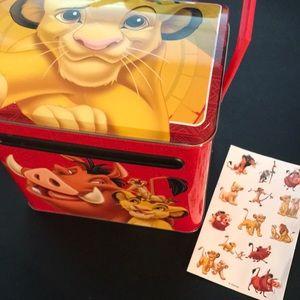 Lion King Metal Mailbox